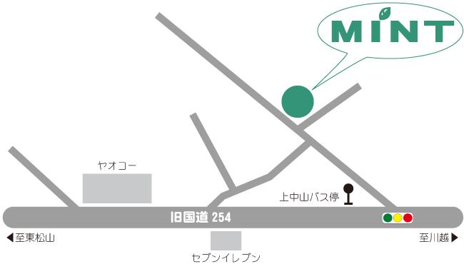 MiNTアクセスマップ
